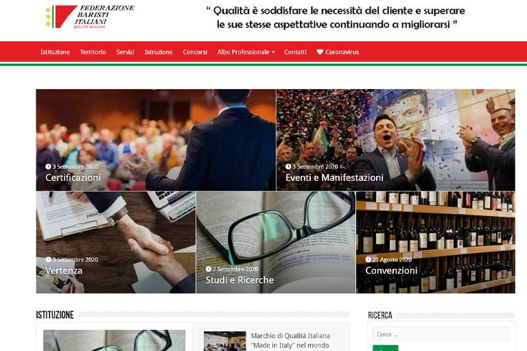 Federazione Baristi Italiani - Corriere Del Bar